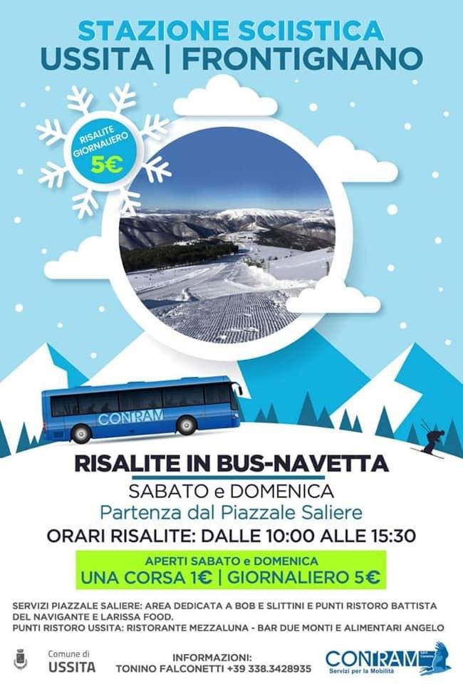 Sciare con BUS-NAVETTA è possibile!